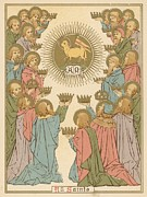 All Saints Print by English School