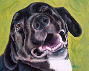 Amy Reges - All Smiles Black Dog