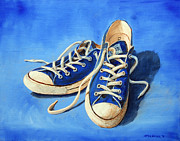 Converse Paintings - All Stars by Chris Karem