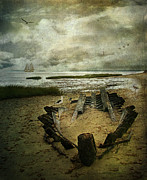 Wreck Prints - All That Remains Print by Lianne Schneider