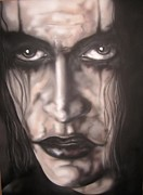  Brandon Lee Framed Prints - All the Power you will Ever Have Framed Print by John Sodja