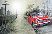 Watercolour Paintings - All the sights that I have seen by John Lowerson