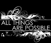 Sabrina Farmer - All Things are Possible