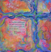 Catholic Art Painting Originals - All You Need by Deb Magelssen
