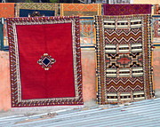Moroccan Market Prints - All you need is a carpet and a dream Print by A Rey