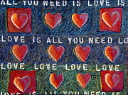 All You Need Is Love Prints - All You Need Is Love 2 Print by Gerry High