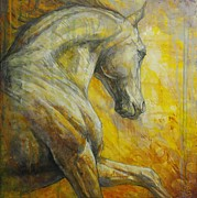Galloping Paintings - Allegro by Silvana Gabudean
