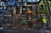 Wesley Allen Photography Photos - Alley Art 7 by Wesley Allen Shaw