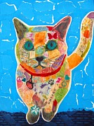Alley Cat Print by Julie  Mortillaro