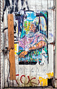 Patched Posters - Alley Doorway - New Orleans Poster by Kathleen K Parker