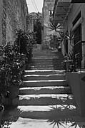 Town Art - Alley in Symi island by George Atsametakis