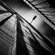 Fine Art Photography Art - Alley Lamp by David Bowman