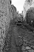 Ancient Ruins Prints - Alleyway Print by Marion Galt