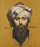 Famous Artists - Alli Baba by Louis Weldon Hawkins