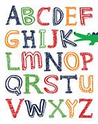 Jaime Friedman - Alligator ABC Poster