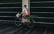 Jim Vansant - Alligator on Bike I...