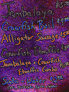 Alligator Prints - Alligator Sausage For Five Dollars 20130610 Print by Wingsdomain Art and Photography