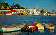 Alls Quiet In The Harbor Print by Karol  Livote