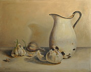 Kathy Morris Paintings - Alls White by Kathy Morris