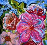 Vibrant Pastels Originals - Allure by Beverley Harper Tinsley