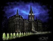 Haunted Digital Art - Alma Nuns by Tom Straub