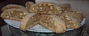 Biscotti Photos - Almond Biscotti by Gay Taweel
