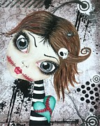 Creepy Originals - Almost A Ghost by Oddball Art Co by Lizzy Love
