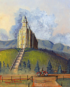 Church Of Jesus Christ Of Latter-day Saints Posters - Almost Home Poster by Jeff Brimley