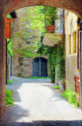 Courtyards Prints - Almost Home Print by Jeff Kolker