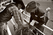 Cowboy Photos - Almost time by Steve Ellsworth