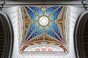 Almudena Cathedral Interior Print by Jenny Hudson