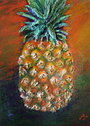 Pineapple Reliefs Prints - Aloha Print by Gitta Brewster