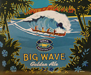 Big Waves Posters - Aloha Series 2 Poster by Cheryl Young