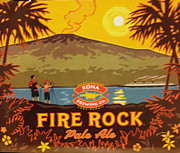 Kona Brewing Posters - Aloha Series 3 Poster by Cheryl Young