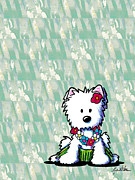 Featured Art - Aloha Westie by Kim Niles