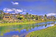 Horizontal - Along Ballona Creek by Chuck Staley