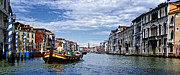 Saint Marks Prints - Along The Canal - Venice Print by Jon Berghoff