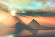 Egyptian Mummy Prints - Along the Nile Print by Corey Ford
