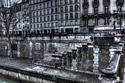 Grate Photos - Along the Seine by Evie Carrier