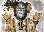 Gorilla Mixed Media Posters - Alpha Phi Alpha Fraternity Inc Poster by Tu-Kwon Thomas