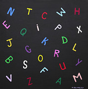 Martin Blakeley - Alphabet in Color