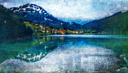 Alps Reflection Print by M and L Creations