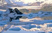 Art Wolfe - Alsek Glacier in St. Elias Mountains