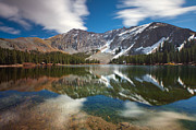 Lake Photography Framed Prints - Alta Lakes Framed Print by Darren  White
