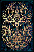 Celtic Art Prints - Altar #1 Print by Cristina McAllister