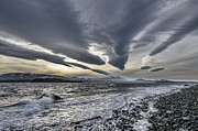Altocumulous Standing Lenticular Clouds Print by Darryl Luscombe