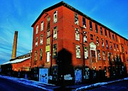 Factory Photo Prints - Altoona Print by Benjamin Yeager