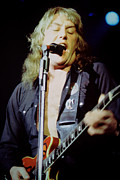 Concerts Prints - Alvin Lee-Ten Years Later at Oakland Auditorium 1979 Print by Daniel Larsen