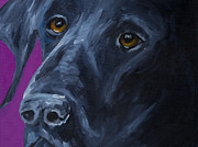 Pet Paintings - Always Faithful by Roger Wedegis