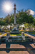Metairie Cemetery Prints - Always Look On the Bright Side of Life Print by Steve Harrington